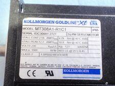 Kollmorgen GoldLine Motor Model # MT308A1-R1C1 USED in Working Condition