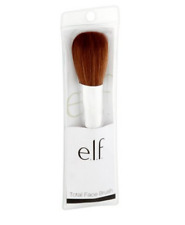 ELF Total Face Brush Bronzer Powders with Nylon Bristles - New in Packaging
