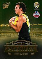 ✺New✺ 2020 RICHMOND TIGERS AFL Premiers Card DANIEL RIOLI - 14 of 25