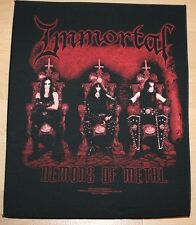 Immortal, Demons of Metal Backpatch, 2004
