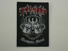 TANKARD ALCOHOLIC METAL WOVEN PATCH