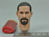 """1/6 Scale Head Carving Sculpt Green Wolf GWG-007 Fit 12"""" Male Action Figure"""
