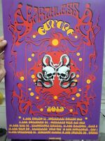Psychedelic concert poster Earthless Euro tour 13x19 artist proof signed limited