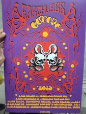 Gig Poster 13x19 Earthless limited edition,psychedelic poster, poster
