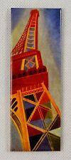 RARE Fridge Magnet from Pompidou Art Museum Paris. Tour Eiffel, Robert Delaunay