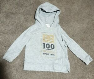 Bonds Size 1 12-18 months 1915 100 years grey Gold Black hoodie 2015 Rare Clean