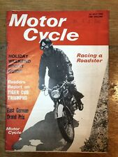 Motor Cycle 30th July 1964 Classic Motorcycle Magazine BSA Norton Triumph