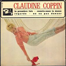 CLAUDINE COPPIN FRENCH GIRL SIXTIES LA PREMIERE FOIS 45T EP BIEM BARCLAY 70.571