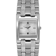 New Authentic GUESS Women Crystal Bracelet Watch U11546L1 comes with Box & Tag