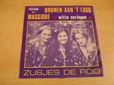 ZUSJES DE ROO - DROMEN AAN 'T LAGO MAGGIORE / WITTE SERINGEN / 45T TELSTAR 2011