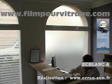 film adhesif pour intimité,dépoli,anti regard : rouleau en largeur de 61 cm