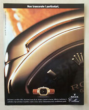 C014-Advertising Pubblicità-1997-ROLEX CELLINI NON TRASCURATE I PARTICOLARI