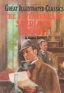 Great Illustrated Classics Adventures of Sherlock Holmes Hardcover Brand NEW