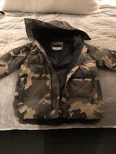 Trussardi Collection Mens Camofluage Hooded Puffa/ Parka  Jacket Medium