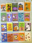 20 Vintage Halloween Paper Trick or Treat Candy Craft Bags lot Witch Ghost JOL