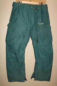"VOLCOM Nimbus ERGO Mens Large 34""W 32""L 15Kmm 15gm Snow/Snowboard Pants"