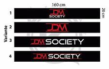 JDM Society Sonnenkeil / Blendstreifen Tuning Universal