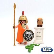 playmobil Romain Figurine: Déesse grecque Athene Guerrière 9150