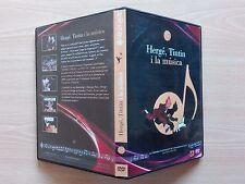 "TINTIN – ""HERGÉ, TINTIN I LA MÚSICA'' - DVD  LIMITED EDITION."
