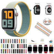 Watch Strap For Apple Watch Series 5 4 3 2 1 Sport Run Nylon Loop 44 42 40 38 MM