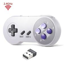 2.4 GHz Wireless SNES Retro USB Controller Gamepad for PC MAC Raspberry Pi US