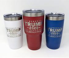 Trump 2020 Make Liberals Cry Again! Election Tumbler | Polar Camel | Engraved