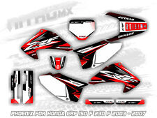 NitroMX Graphics Kit for Honda CRF 150F 230F 2003 2004 2005 2006 2007 Motocross