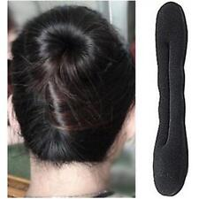 Magic Sponge Clip Hair Styling Foam Donut Bun Curler Maker Ring Twist Tool