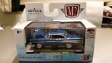 "C. - ""CLASS OF 1957"" Classic Chevrolet Bel Air w/ Display Case - 1:64 Diecast"
