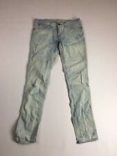 Wrangler 'Molly' Slim Jeans-w28 l32-Faded Acid Wash-Great condition