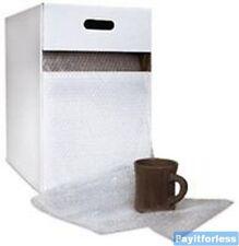 12 X 175 316 Clear Portable Convenient Bubble Cushion Wrap Amp Dispenser 1 Box