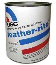 USC 21335 Feather-Rite Autobody Filler (Quart) Includes Blue Cream Hardener