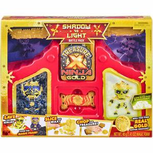 Moose Treasure X Ninja Gold Hunters Shadow vs Light Battle Pack