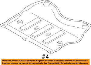 FORD OEM Heat Shields-Exhaust-Exh Heat Shield CV6Z6774A
