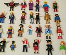 Playmobil Geobra 26 Figures Men Women children Lot