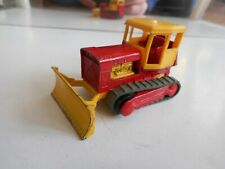 Matchbox Lesney Case Tractor Bulldozer in Yellow/Red