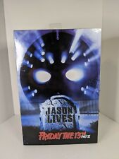 NECA Ultimate Friday the 13th part 6 Jason Lives figure, Voorhees 7 in. NIB
