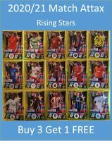 2020/21 Match Attax UEFA Cards - Rising Star - Buy 3 Get 1 FREE Fati Greenwood