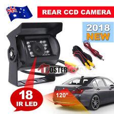 Car Rear View Camera CCD 18 IR LED Reverse Waterproof Night Vision 12/24v IP