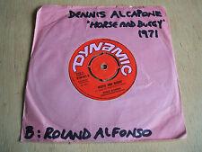 dennis alcapone horse & buggy 1971 uk dynamic label vinyl 45 excellent + rare