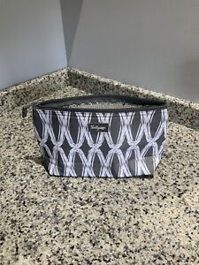 NEW Thirty-One Insulated Bag. Gray/White. Chain Link. 11 X 7. NEW!