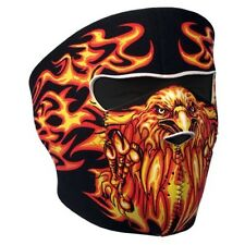 Full Face Flaming Eagle Neoprene Face Mask - 3mm thick  Great design