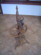 großes altes Spinnrad aus Omas Zeiten 107 cm hoch