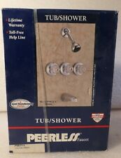PEERLESS TUB AND SHOWER FAUCET SET NEW IN BOX
