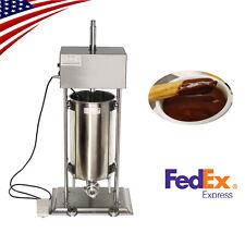 New listing Restaurant 15L Commercial Electric Spanish Churros Maker Baker Making Machine Us