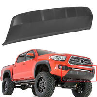 FOR 2016-2020 Toyota Tacoma Front Lower Bumper Valance Panel Skid Plate Black