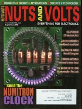 Nuts and Volts Magazine September 2016 Build the Numitron Clock