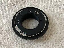 Vivitar TX Lens Mount - Minolta MD