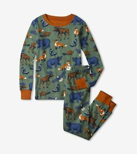 Hatley Forest Animals Organic Cotton Pyjamas