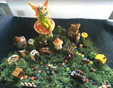 Deluxe-Fairy-Garden-Set-Starter-Kit-Houses-Bridge-Archway 58 pc Party Gift #1